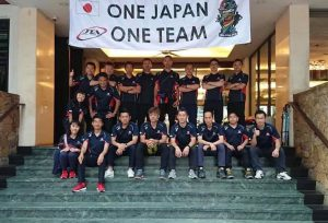 マレーシアワールドカップ帯同との時の写真